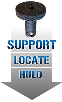 Ball Lock™ - Support-Locate-Hold